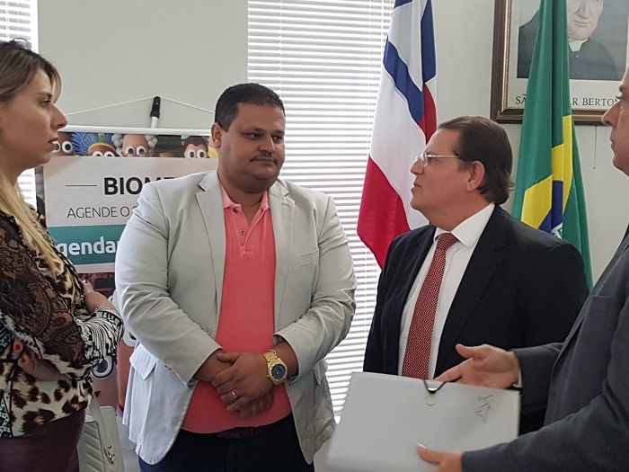 Prefeito de Ibicoara participa de Audiência com Presidente do TRE-BA em Livramento de Nossa Senhora