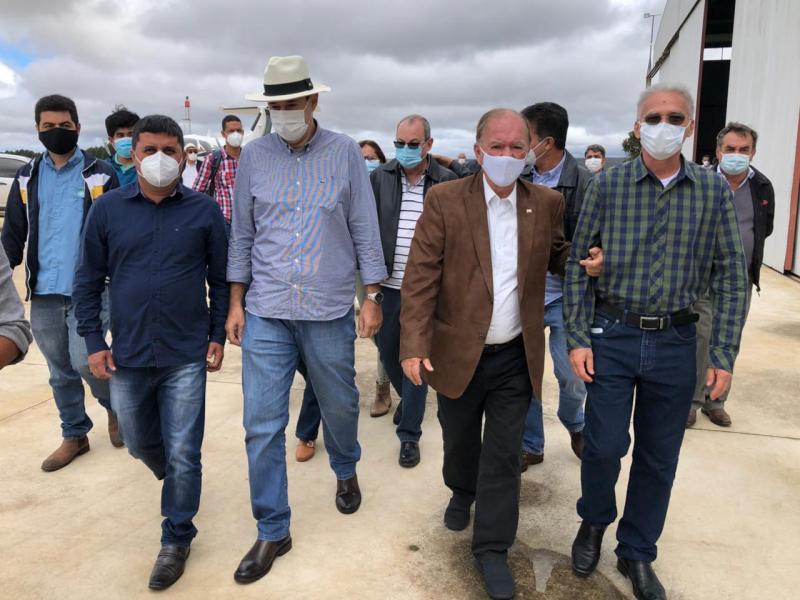 Vice-governador e Secretário de Desenvolvimento Econômico visitam a Chapada Diamantina
