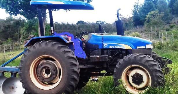 Trator de associação é furtado na zona rural de Ibicoara