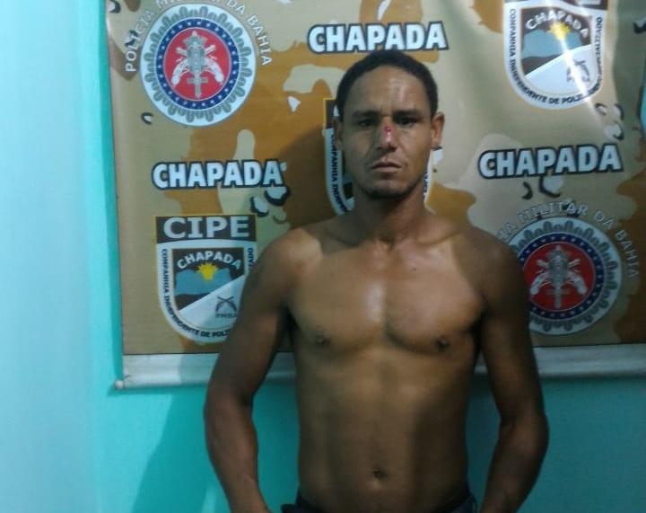 Cipe Chapada prende ladrão de residência em Itaeté