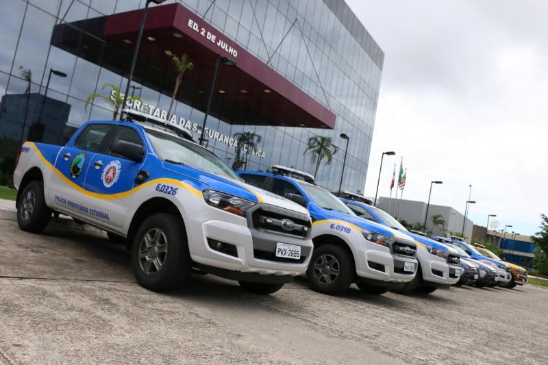 Novas viaturas são entregues ao Batalhão da Polícia Rodoviária