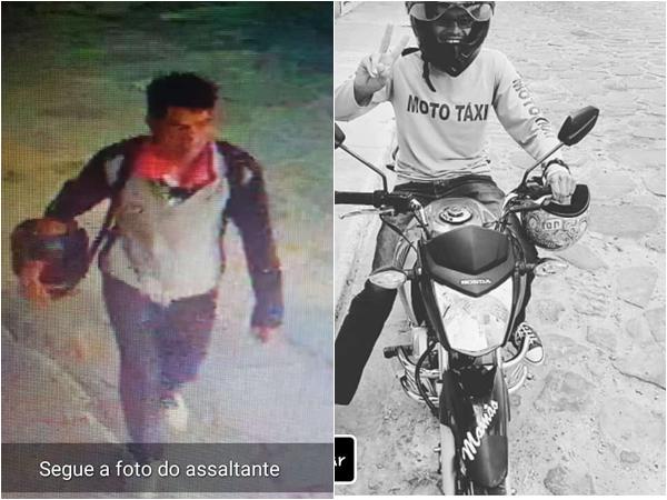 Homem tem moto roubada em Rio de Contas e população se mobiliza para ajuda-lo a encontrar veículo