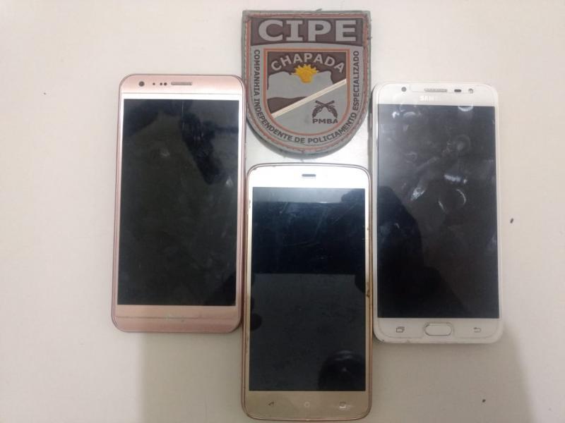 Interceptado criminoso que roubava celulares na Chapada Diamantina