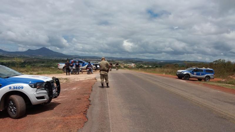 Adolescente é apreendido após ser flagrado com munições em van que viajava de Ibicoara para Andaraí