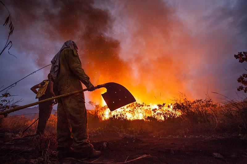 Incêndios levam prefeitura de Iramaia a decretar estado de emergência no município