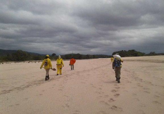 Chapada: Brigadistas voluntários são instruídos em controle e extinção de incêndios florestais em Andaraí