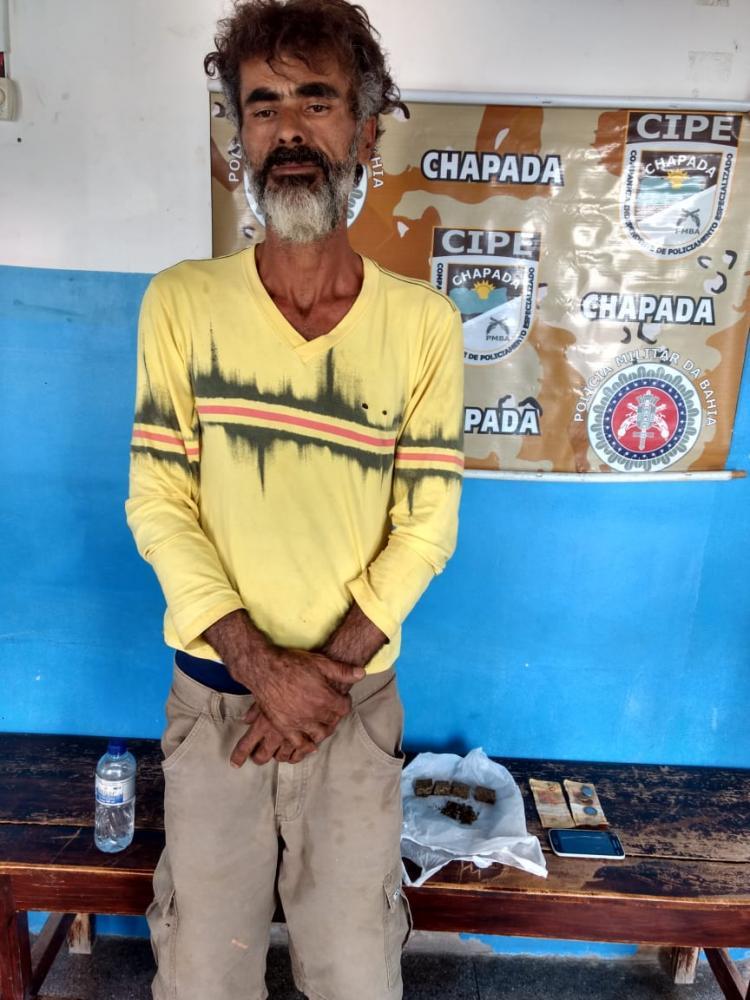 Traficante é preso durante ação da CIPE Chapada