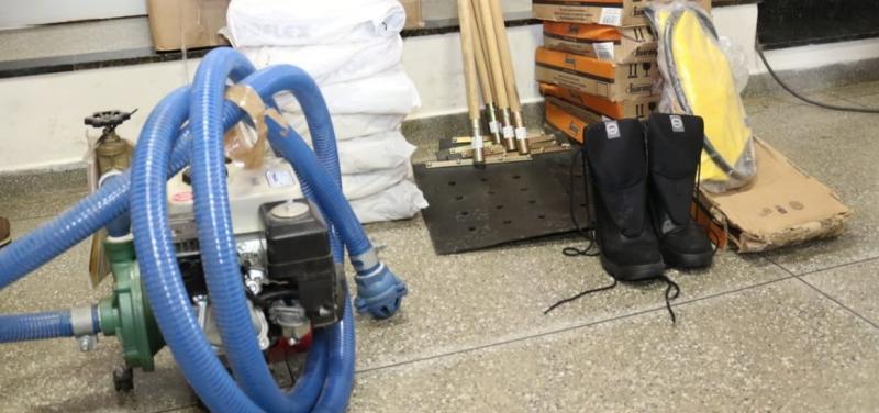 Sema entrega equipamentos para Brigada Voluntária de Combate a Incêndios em Mucugê