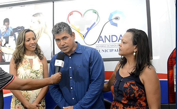 População de Andaraí é presenteada no aniversário da cidade com benefícios e obras entregues pelo prefeito João Lúcio; veja o vídeo