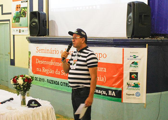 Seminário e Dia de Campo foi realizado com sucesso em Ituaçu; prefeito Adalberto Luz exaltou o evento