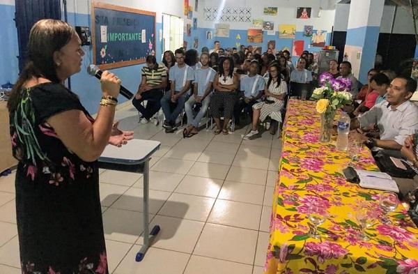 curso técnico em agronegócios foi apresentado para a comunidade em Itaetê