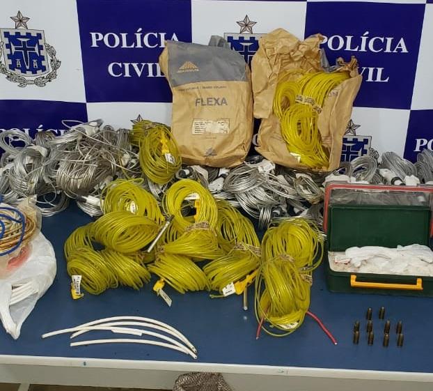 Proprietário de mineradora é preso suspeito de crime ambiental e armazenamento irregular de explosivos em Livramento