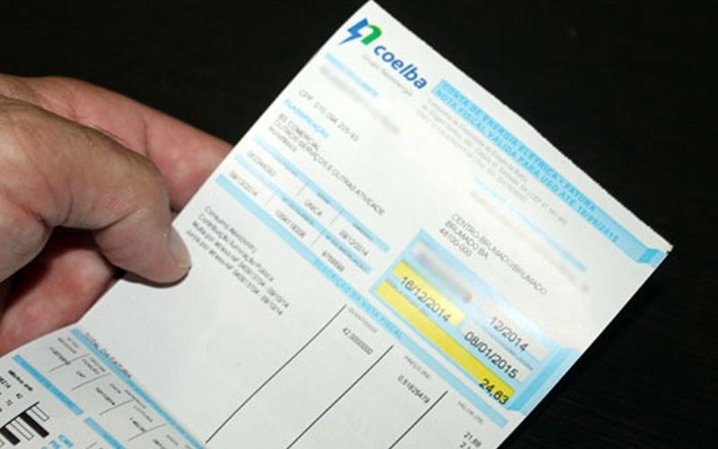 Coelba faz reajuste com aumento de 16,95% na conta de luz, entra em vigor esse domingo