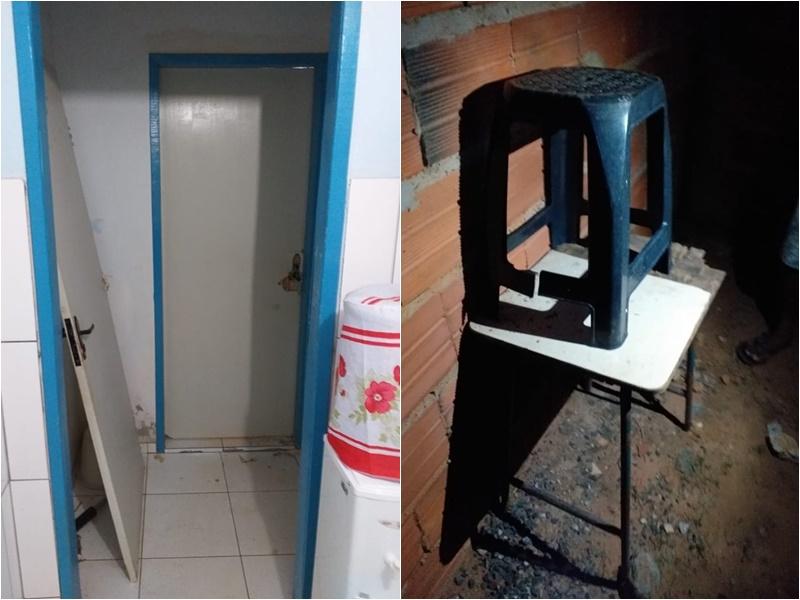 Vândalos roubam produtos e depredam Unidade de Saúde do bairro Renascer, em Ibicoara