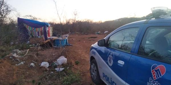 Livramento: Morador de aterro sanitário é violentamente espancado por um grupo de pessoas e sofre vários ferimentos pelo corpo