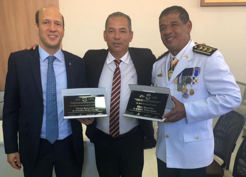 Polícias de Itaberaba são homenageadas em emancipação da cidade