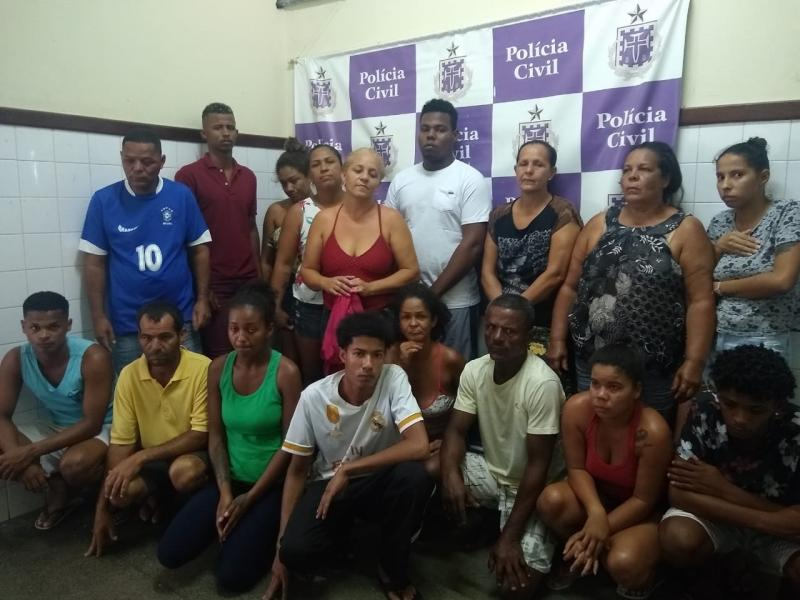 20 pessoas são presas por tráfico de drogas em Itaberaba