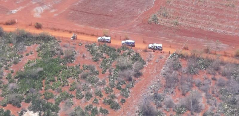 Operação Vetor Aéreo localiza criminosos na Chapada