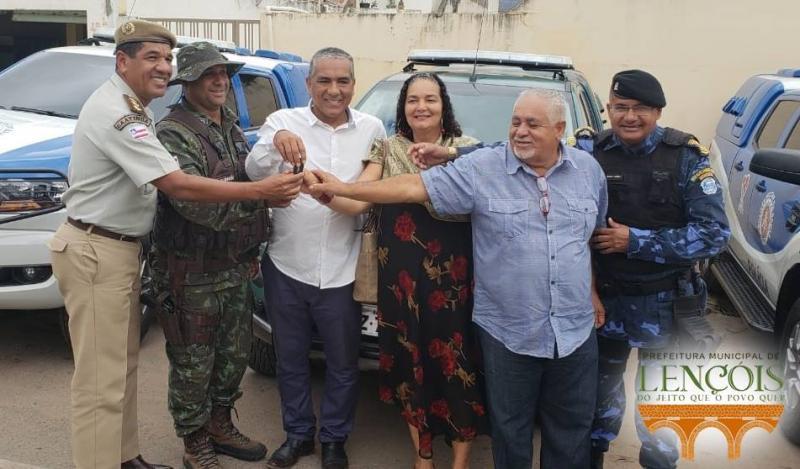 Lençois: Duas novas viaturas reforçará o policiamento no município