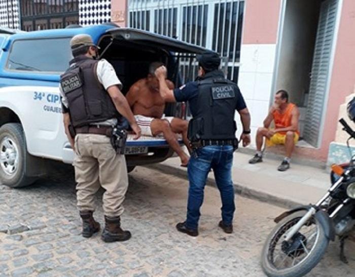 SUSPEITO DE HOMICÍDIO EM GUAJERU É PRESO PELA POLÍCIA DE BRUMADO