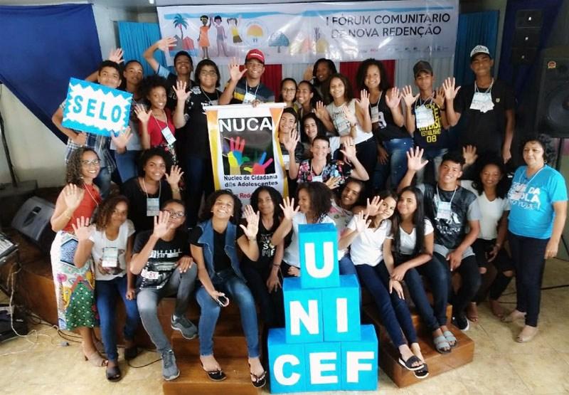 Nova Redenção recebe o 1º Fórum Comunitário do Selo Unicef