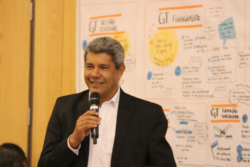 Secretário Jerônimo Rodrigues discute em Brasília a criação deAgenda de Aprendizagem com secretários estaduais de Educação