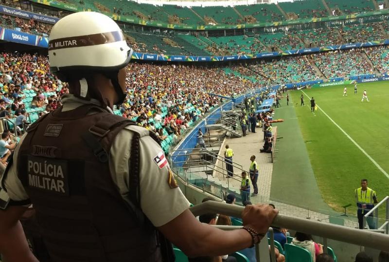 Comitê da Copa América elogia segurança em jogos na Bahia