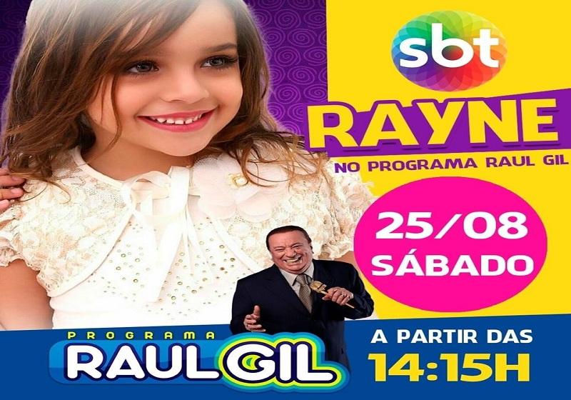 Cantora mirim de Ituaçu se apresenta no SBT no próximo sábado