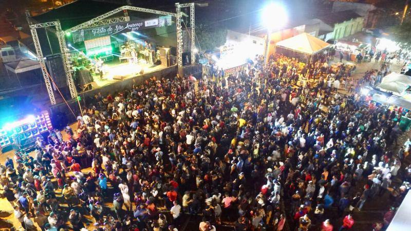 Tradicional Festa de São Lourenço celebra 60 anos e reúne multidão em Colônia