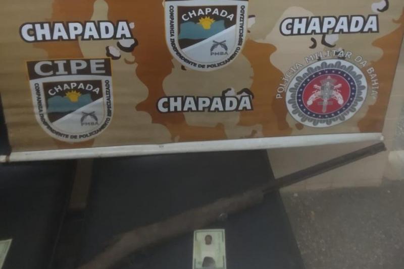 Cipe Chapada impede que homem com medida protetiva atacasse irmã em Mucugê