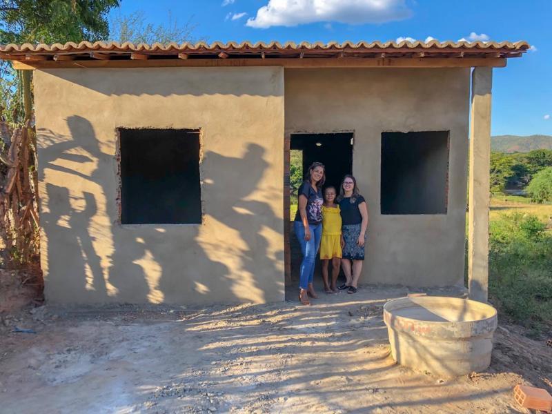 """Itaetê: Obras do projeto """"Moradia Digna"""" avançam e mais pessoas são beneficiadas com unidades habitacionais"""