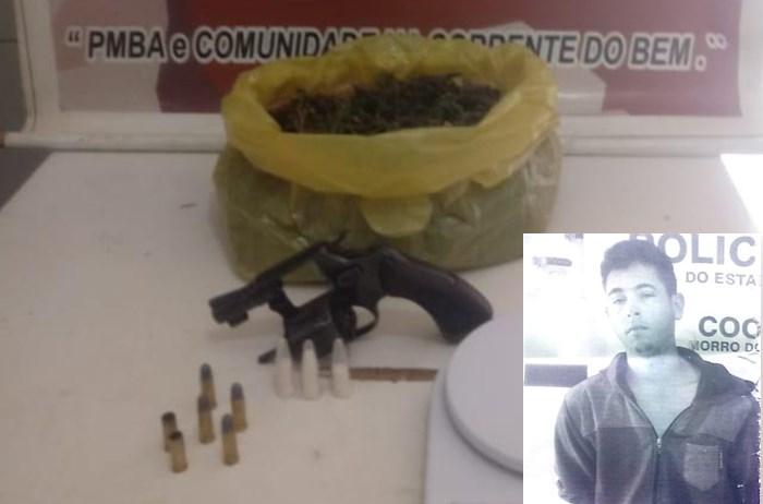 Homicida morre em confronto com a Cipe Semiárido em Morro do Chapéu
