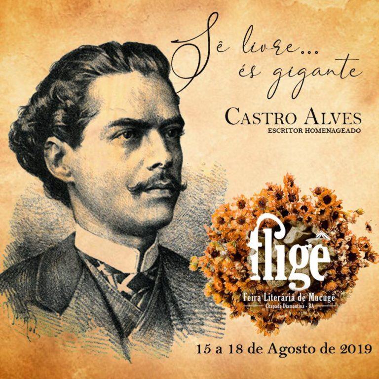 Feira Literária de Mucugê homenageará Castro Alves na edição 2019