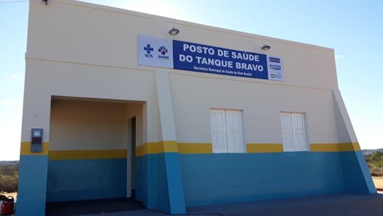 Dom Basílio: Prefeitura inaugura posto de saúde na comunidade Tanque Bravo evento foi marcado por muita emoção