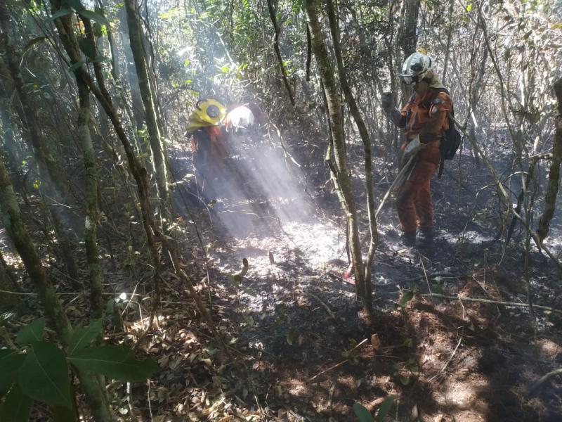 Após 13 dias, incêndio em Rio de Contas é controlado, diz Corpo de Bombeiros