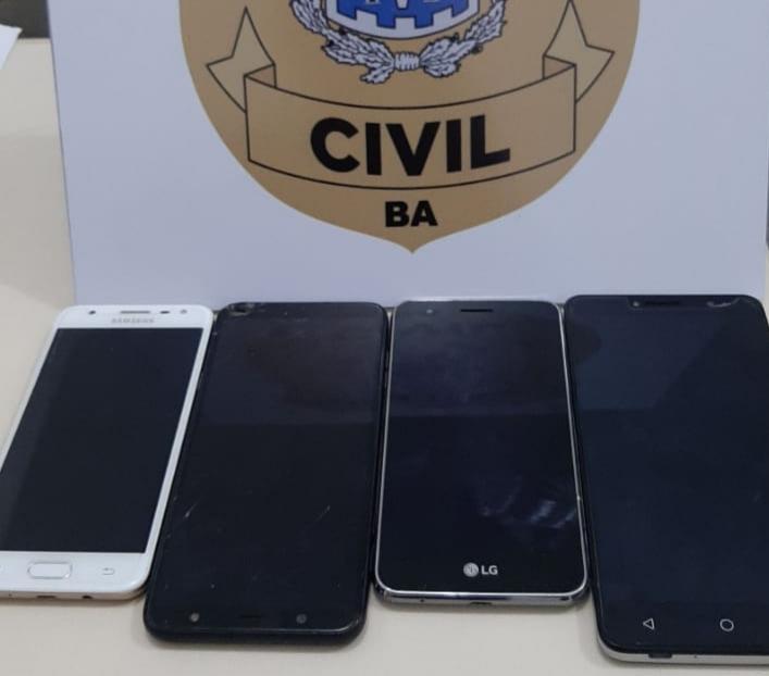 POLÍCIA CIVIL REALIZA 'OPERAÇÃO SEM FIO' E RECUPERA CELULARES ROUBADOS E FURTADOS
