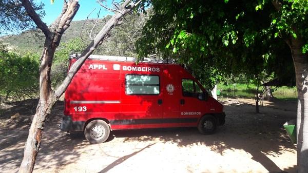 BOMBEIROS LOCALIZAM CORPO DE HOMEM DESAPARECIDO NA CACHOEIRA DO FRAGA EM RIO DE CONTAS