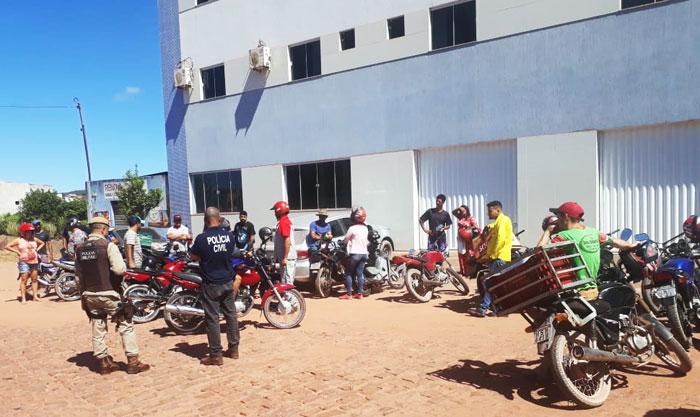Após furtos e roubos voltarem a apavorar barraestivenses, polícia realiza ação conjunta para reprimir criminosos