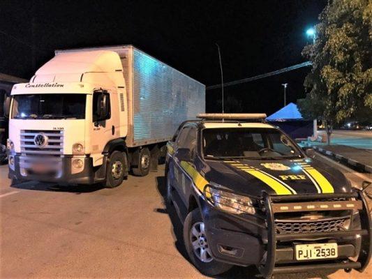 Chapada: Caminhão roubado há 5 anos em São Paulo é recuperado em Seabra