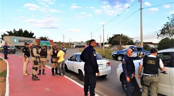 PRF na Bahia e órgãos de segurança firmam parceria na região da Chapada Diamantina