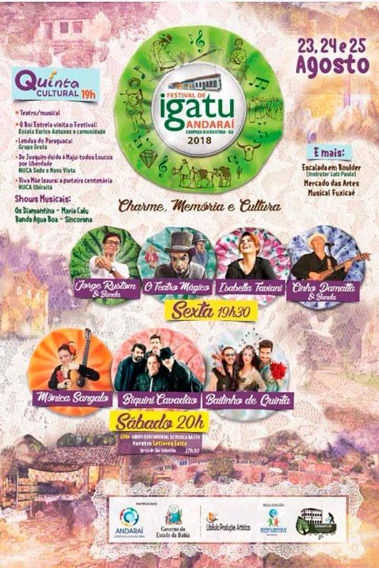 Andaraí: Igatu se prepara para a 6ª edição de Festival