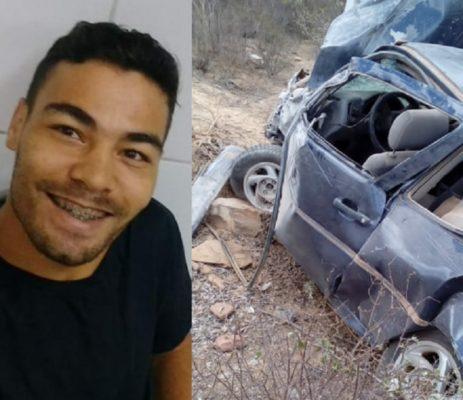 Jovem morre após sofrer acidente entre Rio de Contas e Jussiape
