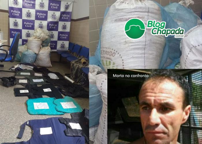 Operação do DRACO, Polícia Civil e Polícia Federal em Seabra resulta na morte e prisão de envolvidos no assassinato do Delegado Marco Torres de Barra da Estiva