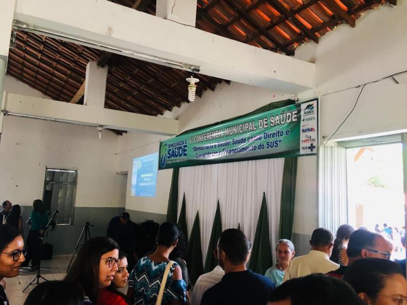 6ª Conferência de Saúde é realizada em Ituaçu; veja o vídeo