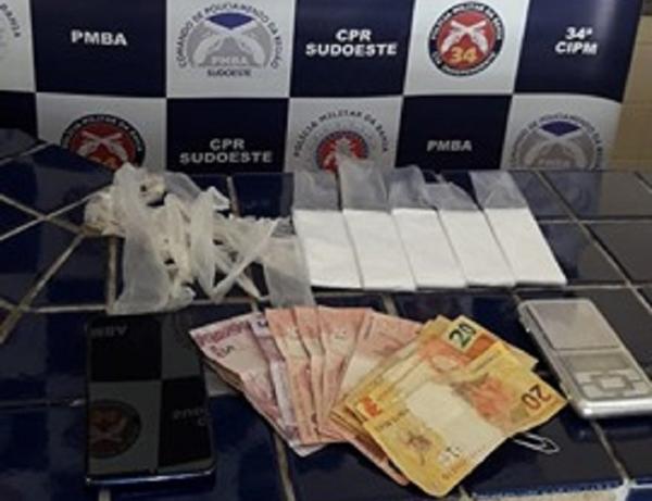 BRUMADO: MULHERES SÃO DETIDAS POR TRÁFICO DE DROGAS