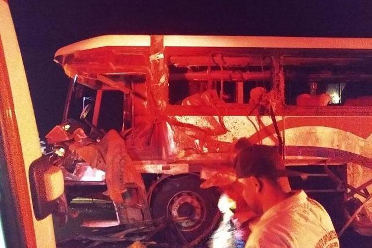 Guanambi: Identificadas vítimas do acidente entre caminhão e ônibus que transportava estudantes de Caetité