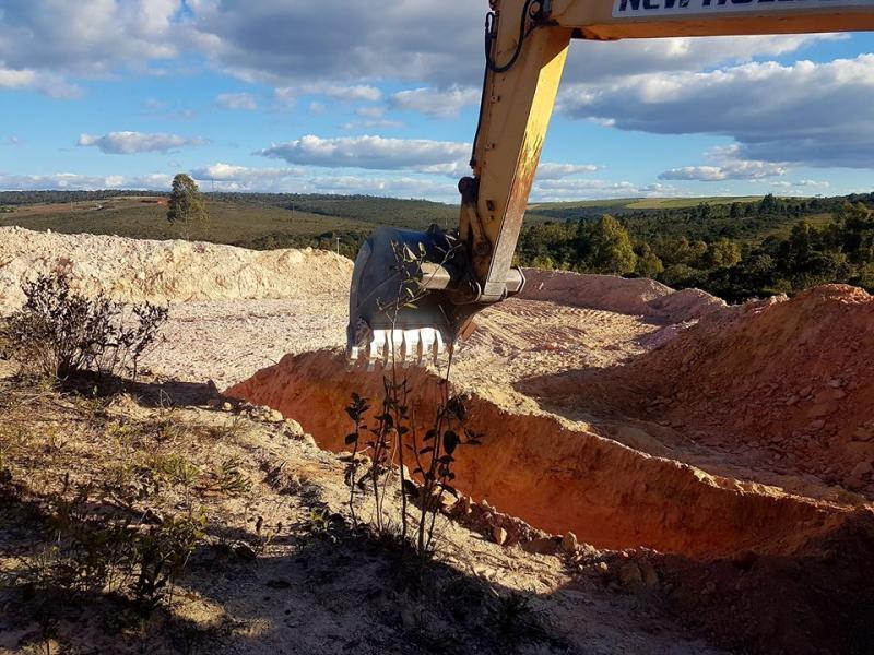 Tanques para criação de peixes estão sendo abetos em Ibicoara; prefeito Haroldo visitou o andamento das obras